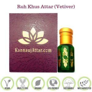 Ruh Khus Attar - Buy Pure Ruh Khus Attar Online