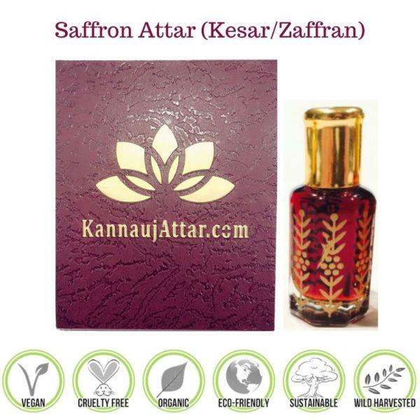 Saffron Attar (Zafran or Kesar Attar) - Buy Online