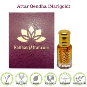 Marigold Attar (Gendha Attar) Buy Online