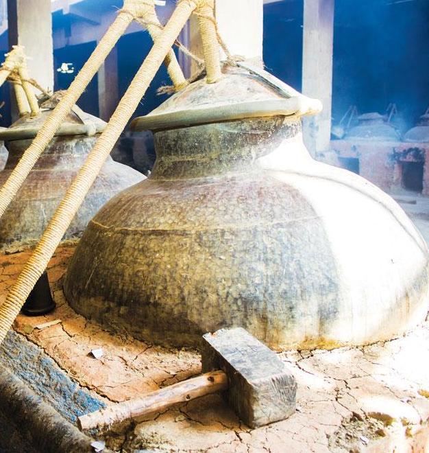 Traditional Attar Making Deg & Bhapka Method