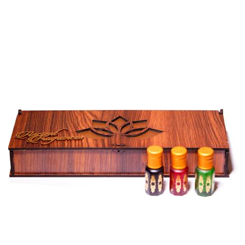 Kannauj Popular attars natural gift set for men and women