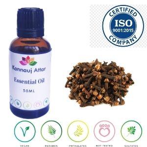 Buy Organic Certified Clove Bud Essential Oil India